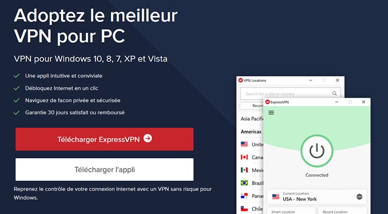 ExpressVPN sur Windows