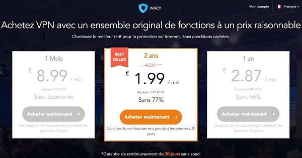 prix-ivacy-vpn