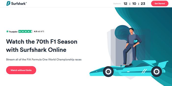 Surfshark F1