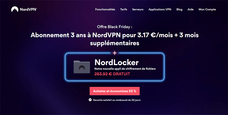 Black Friday de NordVPN