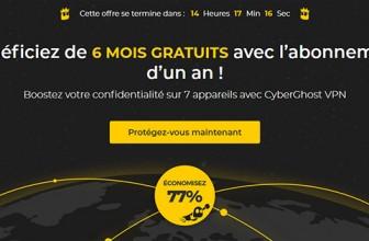 CyberGhost : quelle réduction pour le Black Friday et Cyber Monday ?