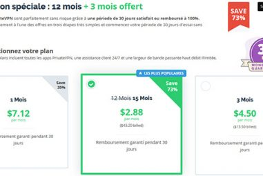 PrivateVPN : quelle réduction pour le Black Friday et Cyber Monday ?