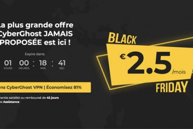 CyberGhost : quelle réduction pour le Black Friday et Cyber Monday ?