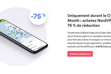 NordVPN : quelle réduction pour le Black Friday et Cyber Monday ?